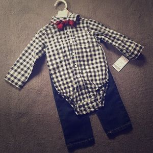NWT Carter's Baby Boy Outfit!